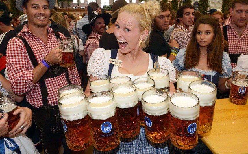 La fiesta alemana de la cerveza
