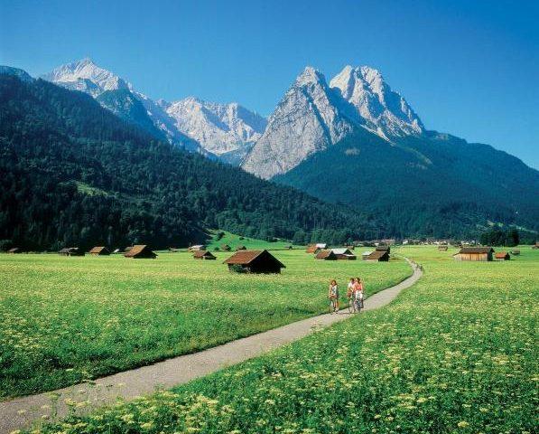 Los Alpes alemanes