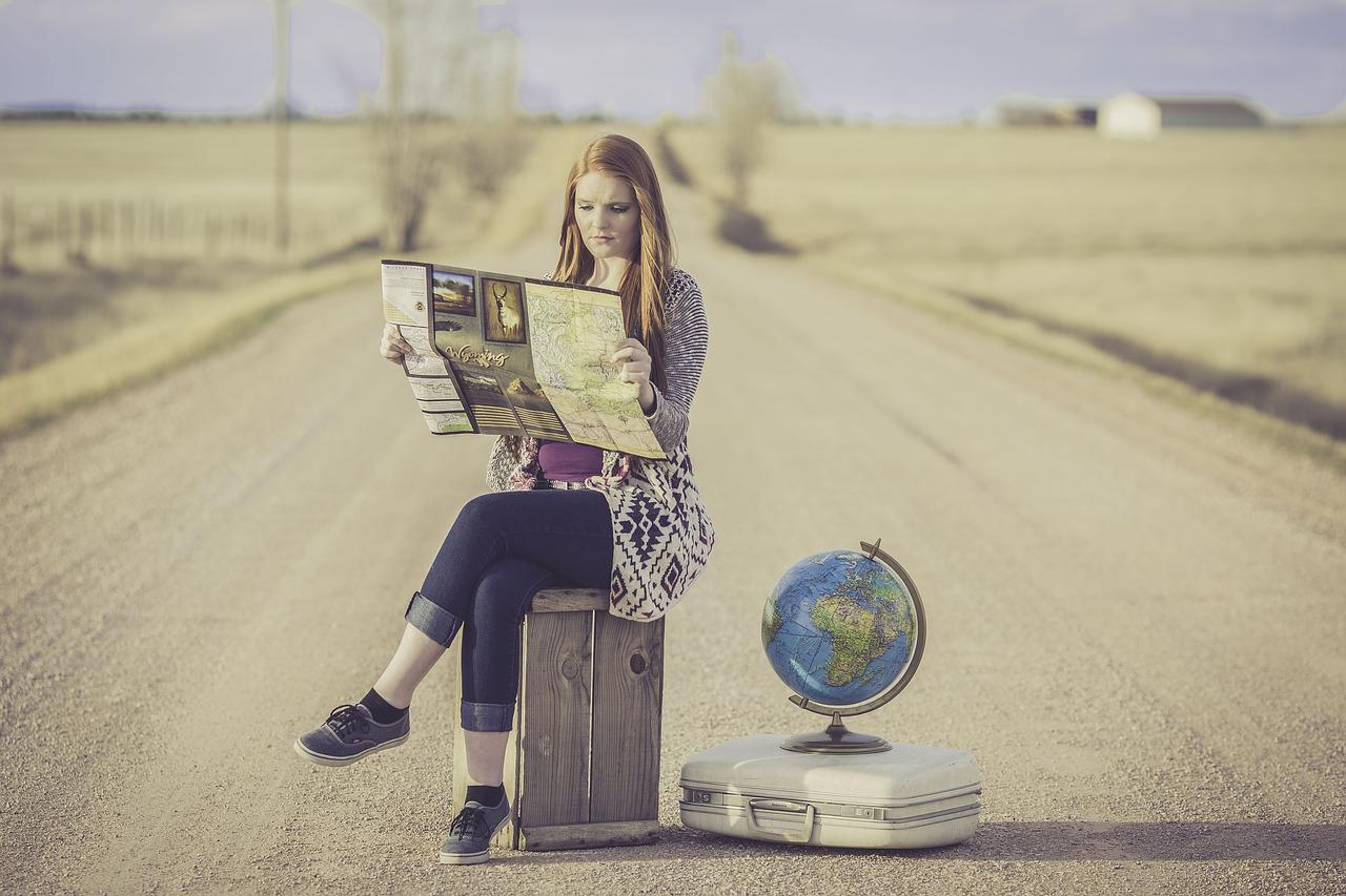Desplazamiento para viajar