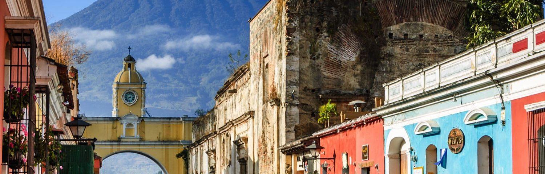 Antigua capital de Guatemala