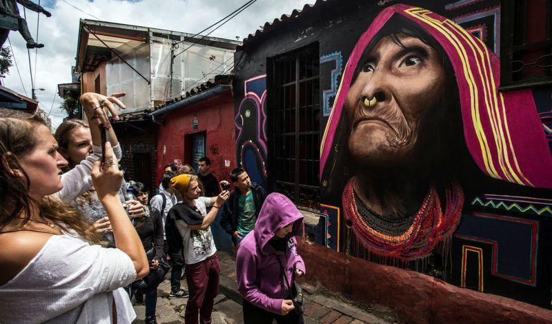 Bogotá pinturas