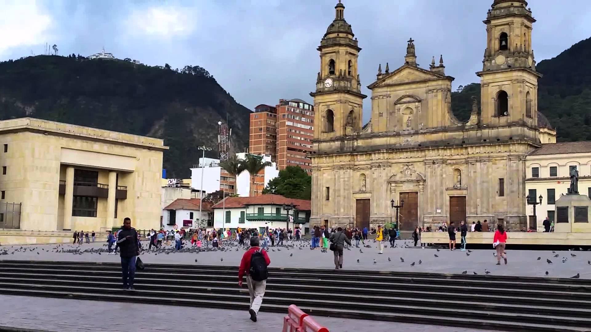 Plaza de Bolivar en Bogotá