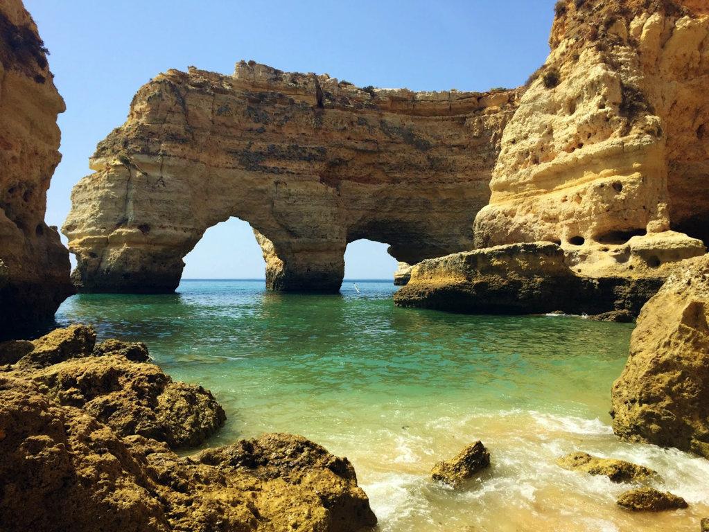 Playa Marinha Portugal