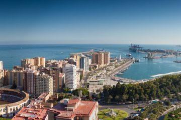 De vacaciones en Málaga
