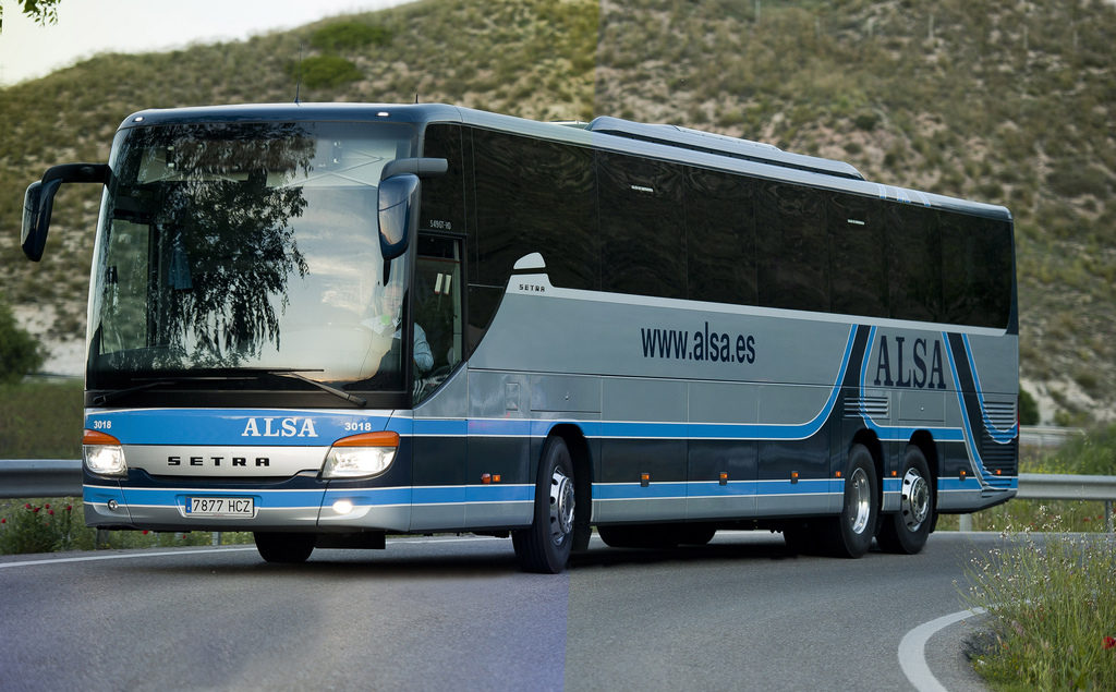 Autobús Alsa Granada Madrid
