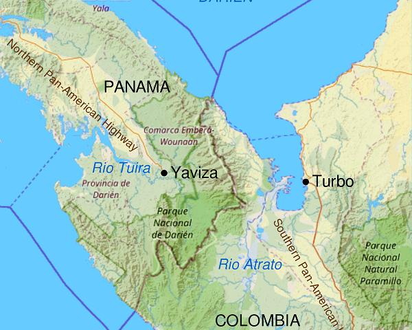 La ruta panamericana