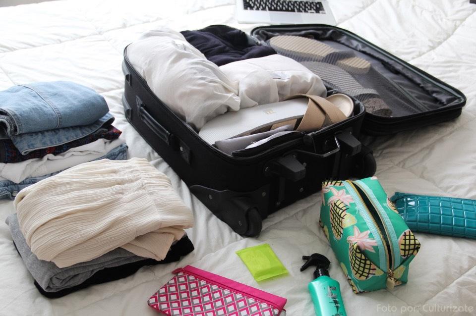 consejos para organizar su maleta de graduación
