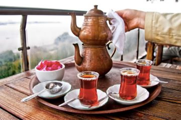 Turquía de té verde